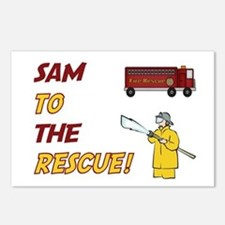 Sam to the Rescue!  Postcards (Package of 8)
