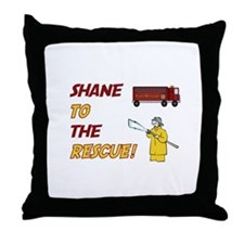 Shane to the Rescue!  Throw Pillow