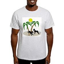 bymw Ash Grey T-Shirt
