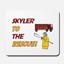 Skyler to the Rescue! Mousepad