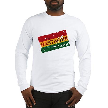 RASTAFARI FLAG Long Sleeve T-Shirt