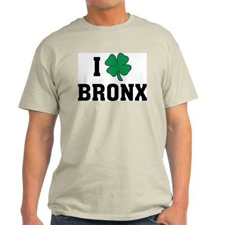 I Shamrock Love Bronx Light T-Shirt