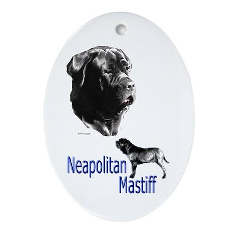 Neop mastiff bymw Keepsake (Oval)