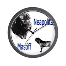 Neop mastiff bymw Wall Clock