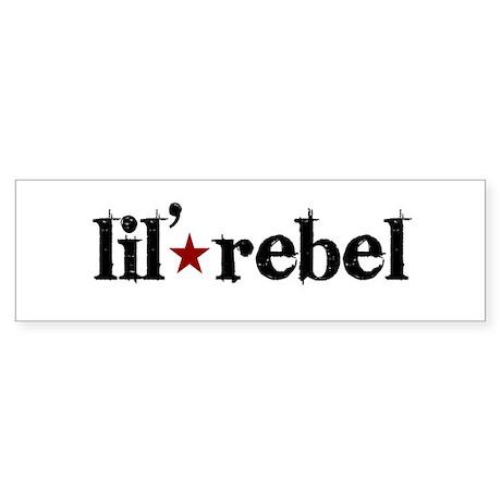 Lil' Rebel Bumper Sticker