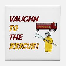 Vaughn to the Rescue!  Tile Coaster