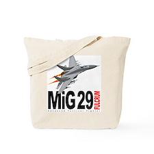 MiG 29 Fulcrum Tote Bag