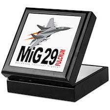 MiG 29 Fulcrum Keepsake Box