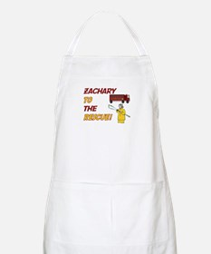 Zachary to the Rescue!  BBQ Apron