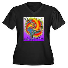 Art PLAYS W FIRE 600pix Plus Size T-Shirt