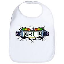 Forest Hills (White) Bib