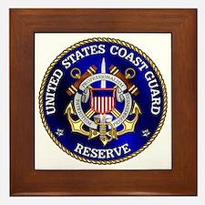 USCG Reserve Framed Tile