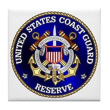 USCG Reserve Tile Coaster