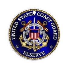 USCG Reserve Ornament (Round)