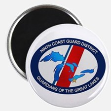 """9th District USCG 2.25"""" Magnet (10 pack)"""