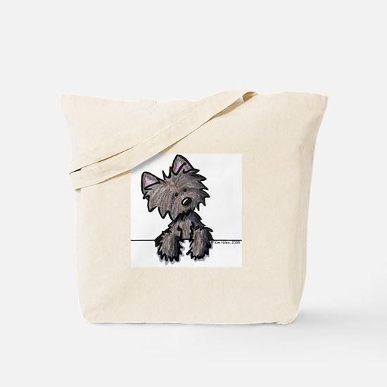 Pocket Cairn Tote Bag
