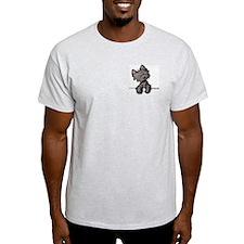 Pocket Cairn Ash Grey T-Shirt