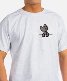 Pocket Cairn Ash Grey T-Shirt