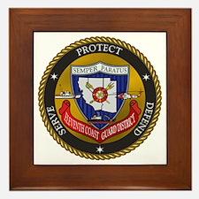 11th District USCG Framed Tile