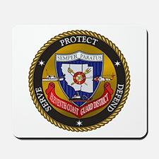 11th District USCG Mousepad