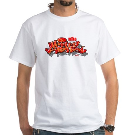 MIKE1 White T-Shirt