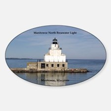 Manitowoc North Breakwater Light Decal