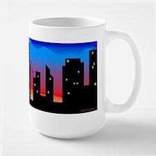 Large Bassoon Skyline Mug