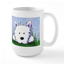 Smiling Spring Westie Mug