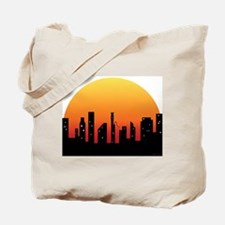 Bassoon Skyline Sunrise - Tote Bag
