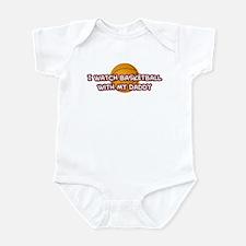 Phoenix Basketball Daddy Infant Bodysuit