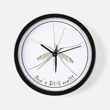 Helaine's Bug  Wall Clock
