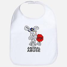 Stop Animal Abuse Bib