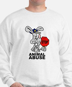 Stop Animal Abuse Sweatshirt
