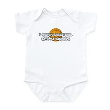 San Antonio Basketball Grandp Infant Bodysuit