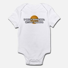 San Antonio Basketball Grandp Infant Bodysuit