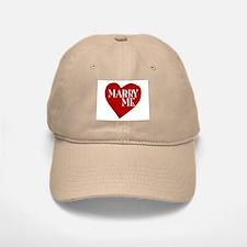 Marry Me Valentine's Day Baseball Baseball Cap