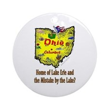 OH-Erie! Ornament (Round)