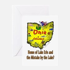 OH-Erie! Greeting Card
