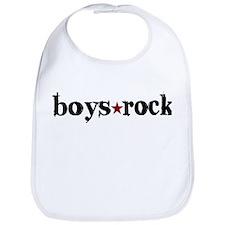 Boys Rock Bib