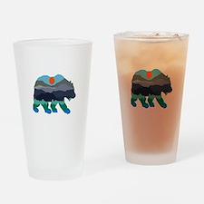 BEAR Drinking Glass