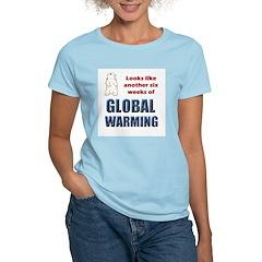 Groundhog Day Women's Pink T-Shirt