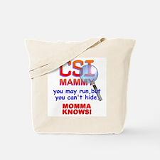 CSI MAMMY Tote Bag