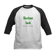 Shadows Suck Kids Baseball Jersey