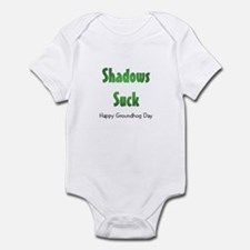 Shadows Suck Infant Bodysuit