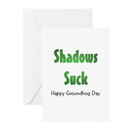 Shadows Suck Greeting Cards (Pk of 10)