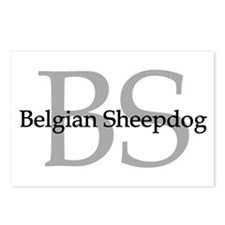 Belgian Sheepdog BS Postcards (Package of 8)