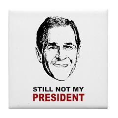 Anti-Bush Tile Coaster