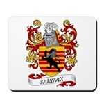 Fairfax Coat of Arms Mousepad