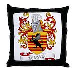 Fairfax Coat of Arms Throw Pillow