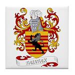 Fairfax Coat of Arms Tile Coaster